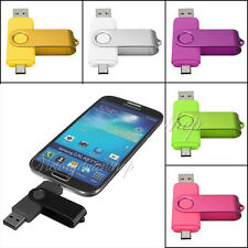 8GB USB Micro 2.0 Flash Drive Memory Stick Card For OTG Smart Phone Tablet PC