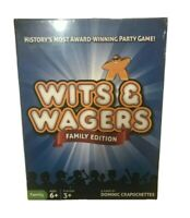North Star Games Wits & Wagers Family Edition Kid Friendly Party Game and Trivia