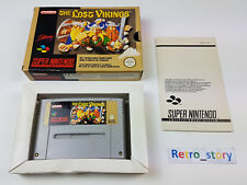 Super Nintendo SNES The Lost Vikings PAL