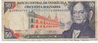 50 Bolivares, Venezuela, 1988-11-03
