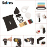Selens 6 in 1 Magnetic Flash Light Control Kit Honeycomb Grid Sphere Bounce Gel