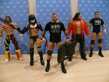 WWE MATTEL ELITE SERIES HUGE LOT OF WRESTLING FIGURES & ACCESSORIES BUNDLE