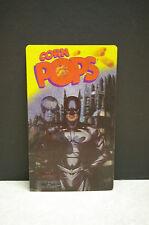 1997 KELLOGGS CORN POPS 3D LENTICULAR 'BATMAN AND ROBIN' MOVIE ADVERTISING CARD