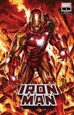 IRON MAN #1 1:50 BROOKS VARIANT MARVEL COMICS EB143