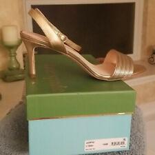 NIB Kate Spade Jasmyne Metallic Sandals, Size 10