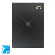 Collins 44E 2020 Diary One Day Per Page Black A4 Early Edition 2020