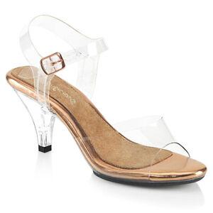 "FABULICIOUS Belle-308 3"" Heel Ankle-Strap Sandal"