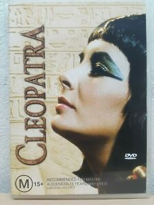 Cleopatra DVD ELIZABETH TAYLOR 1953 (2-Disc Set) AUSTRALIAN REGION 4