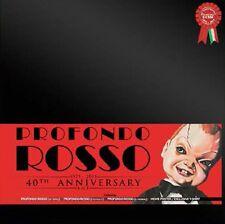 """PROFONDO ROSSO 40TH ANNIVERSARY BOX EDIZIONE LIMITATA  NUMERATA 10""""+2 CD+Poster"""