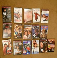 16 New Unopened VHS Tapes Lot mostly Comedy