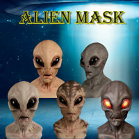 Halloween Alien Mask Scary Horrible Horror Alien mask Magic Mask Fun Party Toys
