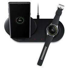 2 in 1 Fast Charging Wireless Charger Pad For Samsung Phone And Smart Watch2/3