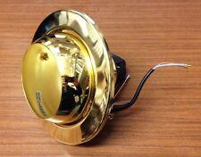 R63 BRASS EYEBALL 240v  Recessed Downlight Replacement Spot light Fitting