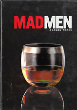 Mad Men: Season Three 3 (DVD 2010, 4-Disc Set, Canadian Lowball Glass Packaging)