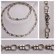 BELLA CADENA LARGA / Collar 925 Plata Cadena de plata collar de plata L: 60cm