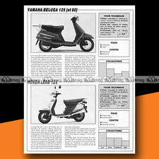 ★ YAMAHA BELUGA 125 & HONDA LEAD 125 ★ 1986 Essais Scooters / Road Test #a786