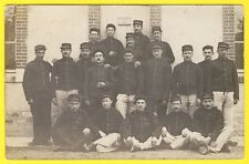 cpa CARTE PHOTO BOURGES 1er Régiment d'Artillerie Ateliers du Maitre TAILLEUR