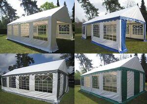 4x8 - 5x10m Partyzelt Bierzelt Zelt Pavillon Festzelt  PVC NEU !!