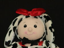 FIRST & MAIN TRICK-OR-TREAT COSTUMES DALMATIAN PUPPY DOG GIRL DOLL PLUSH TOY