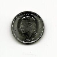 World Coins - Dominican Republic 10 Centavos 1984 Coin KM# 60 BU UNC