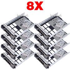 """8X 3.5"""" 0F238F  SAS Tray Caddy For Dell Sled R710 R720 R620 T610 T710 UK Ship"""