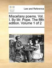 Miscellany Poems (2010, Paperback)
