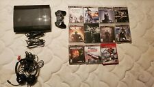 Ps3 Super Slim 500GB, with Controller, 11 Games, and Headset
