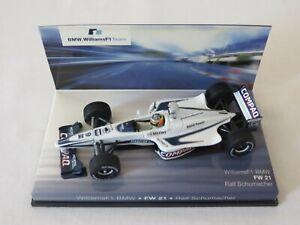 RALF SCHUMACHER Williams F1 BMW FW21 Dealer Edition Minichamps 1999 / 2000 1:43