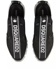 DSQUARED2 TAPE LOGO SLIP-ON SNEAKER , Size Available 9,10,11