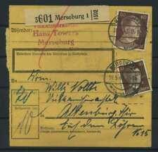 Paketkarte 1943 MERSEBURG siehe Beschreibung (117457)