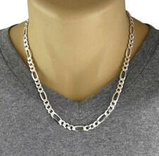 50cm Silver Figaro Chain, in a Gift Box