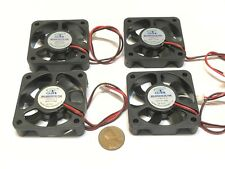 4 Pieces 5010 5V fan 50mm 5cm Extruder Cooling Heatsink Gdstime 3d printer C13
