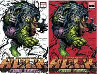 IMMORTAL HULK GREAT POWER #1 TYLER KIRKHAM EXCLUSIVE VARIANT SET 2/12