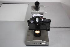 Vintage Olympus CH CHB Monocular Microscope w/ Objectives 10, 40, 100