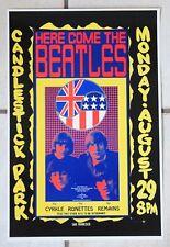Beatles Konzert Poster 'San Francisco 1966', Plakat, DIN A3, Mint, John Lennon