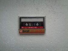 Vintage Audio Cassette BASF LH-MI 90 * Rare From 1985 * Transparent Wrapping