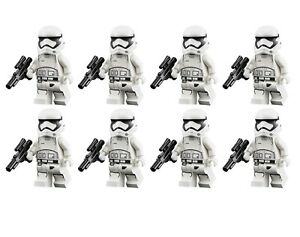 FIRST ORDER STORMTROOPER CUSTOM LEGO STAR WARS MINIFIGURE ARMY
