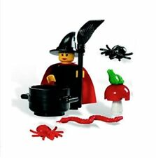 LEGO witch w cloak & accessories NEW Minifigure Fairytale & Historic 9349 RARE!