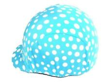 Blue Riding Helmet Covers