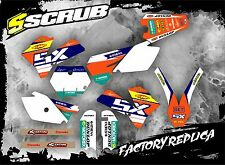 SCRUB KTM graphics decals kit SX 85 '06 - '12 sticker Motocross MX 2006 - 2012