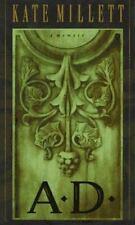 A.D.: A Memoir Millett, Kate Hardcover