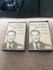 BOB CROSBY & THE BOBCATS cassette tape 1 & 2 DANCE OFF BOTH YOUR SHOES
