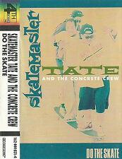 Skatemaster Tate And Concrete Crew Do The Skate CASSETTE ALBUM Breaks, Jazz-Funk