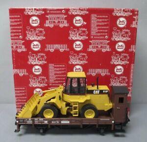 LGB 40124 Low Sided Gondola w/ Caterpillar Load EX/Box