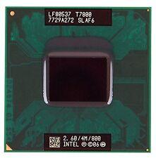 Intel Core 2 Duo T7800 SLAF6 2.6GHz 4MB Dual-core Mobile CPU Processor Socket P