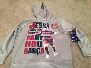 FC Barcelona Messi Hoody Hoodie. Youth Large. Brand New. Hky Sportswear