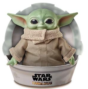 Star Wars Mandalorian The Child Plush Toy 11-inch Baby Yoda Soft Figure NEW