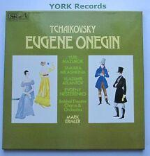 SLS 5191 - TCHAIKOVSKY - Eugene Onegin MAZUROK / ERMLER - Ex 3 LP Record Box Set
