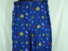 Clubroom Blue Cartoon Print Pajama Pants    Size:  Large