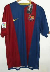 BARCELONA 2006 AUTHENTIC FOOTBALL SHIRT BY NIKE XL NEW WITH TAGS